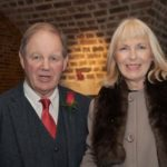 Sir Michael Morpurgo with Janet West