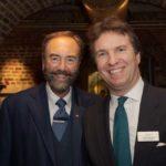 Robert Walton MBE with Jamie Newall