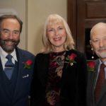Readers Robert Walton MBE, Janet West and Pete Brady