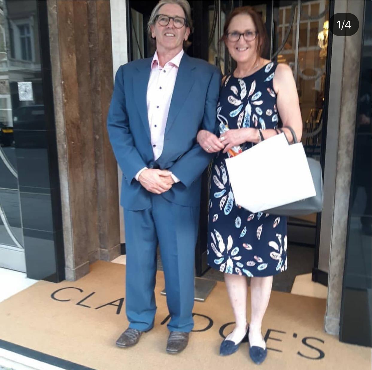 Phil and Katrina who run J&P Scaffolding