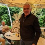 Nigel Digweed, winner of Nearest the Pin competition