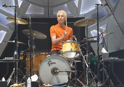 H62F9A Las Vegas, NV, USA. 22nd Oct, 2016. Charlie Watts of The Rolling Stones in attendance for Rolling Stones Concert, T-Mobile Arena, Las Vegas, NV October 22, 2016. Credit:  James Atoa/Everett Collection/Alamy Live News